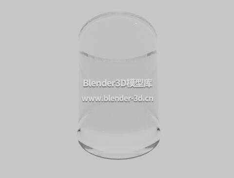 圆玻璃杯子