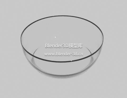 平底玻璃碗