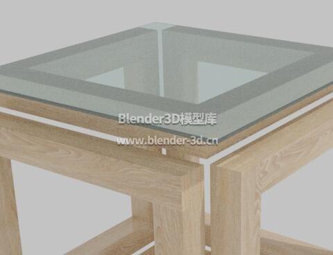 玻璃方桌边桌