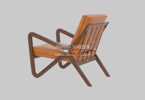 橙色Taylor椅子