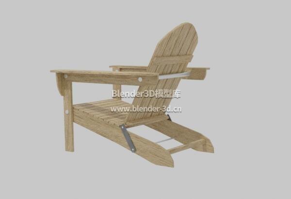 实木Adirondak椅子