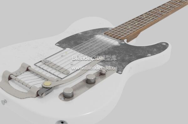 污渍黑白色电吉他