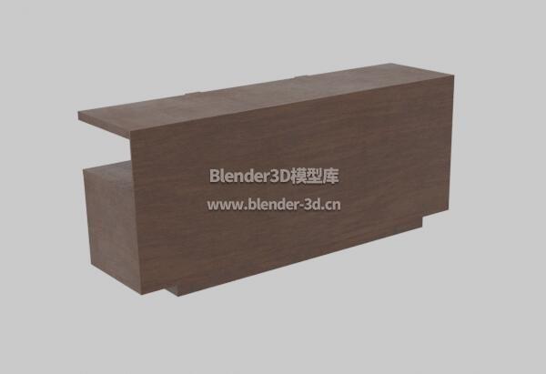 棕色实木电视柜