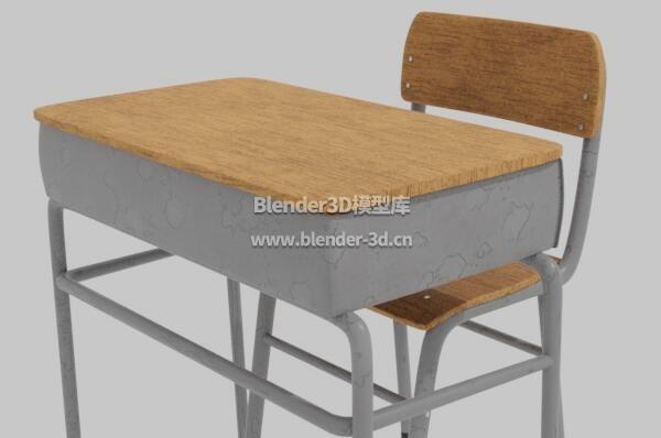 简单课桌椅