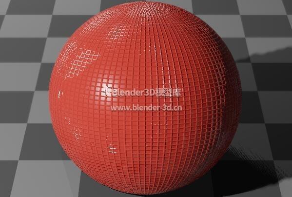 红色网格塑料