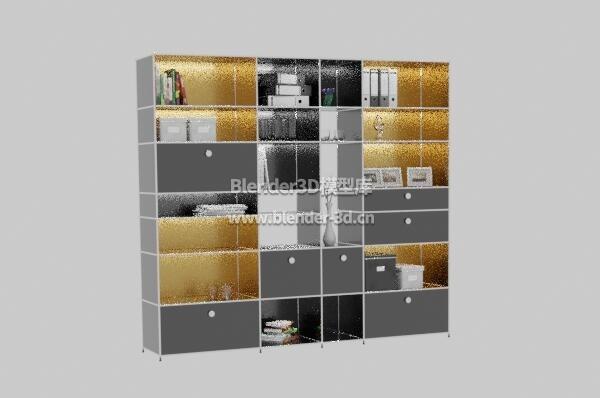 书架壁柜置物架陈列架