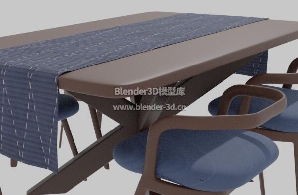 深色实木餐桌椅子